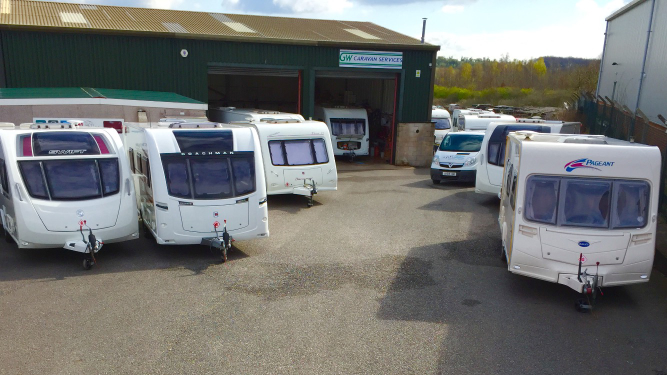 GW Caravan Services in Creswell Nottinghamshire